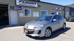 2013 Mazda MAZDA3 GX-LOW KM-OFF LEASE-CRUISE-ALLOYS