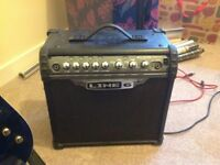 Line 6 Spider iii 15w Electric Guitar Amp