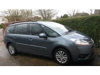 Citroen C4 Grand Picasso - 07 reg - squeeling clutch - otherwise sound - MOT to Feb 2018