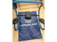 Ab roller and aerobic mat