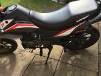 Keeway tx 125s 64 reg swap for lexmoto adrenaline 125 with same kind of reg or apache 125