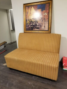 Couch / Sofa / Cushioned Bench - 2 available - New