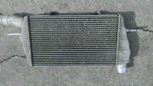 Mitsubishi Evolution intercooler.