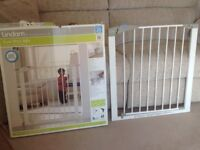 Lindam children's safety gate