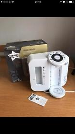 """Tommee Tippe """"prep perfect"""" baby bottle making machine"""