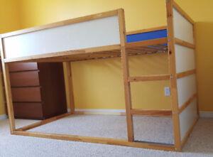 Lit réversible IKEA KURA pour enfant - IKEA Kura childrens rever