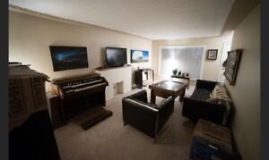 Two bedroom furnished/unfurnished suite with 1 full bath!