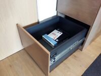 Deep Wooden Drawers With Lock & Key, Collection Only in Glasgow City Centre