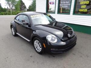 2016 Volkswagen Beetle Trendline+ only $135 bi-weekly all in!