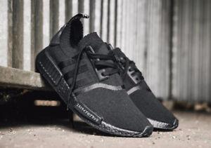 Adidas NMD R1 Japan Triple Black Deadstock size 10