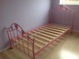 Child's single bed frame