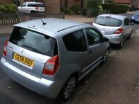 Citroen C2 vts Silver service history good condition age related marks drives well
