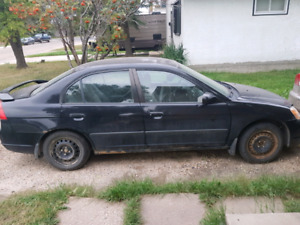 03 honda civic standard $400 kinda runs