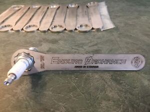 """2T Spark Plug Wrenches $15 + $4.06 s/h, 30"""" Pipe Guards"""