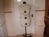 Dressmakers Model with stand in very good condition, still in box.