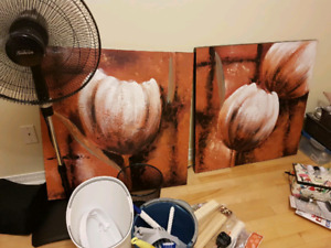 Painting 2 Tulips