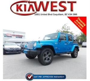 2016 Jeep WRANGLER UNLIMITED Sahara 4X4