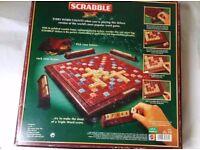 Scrabble Deluxe Wooden Rotating Board