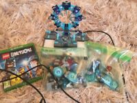 Lego dimensions x box game and, platform and figures