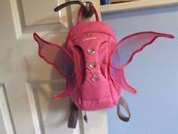 Pink fairy Littlelife backpack