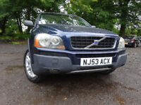 53 VOLVO XC 90 D5 SE 4WD AUTOMATIC,*7 SEATER*,MOT AUG 018,2 KEYS,2 OWNERS,FULL HISTORY,STUNNING 4X4