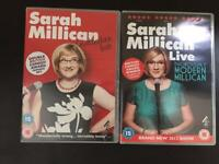Two Sarah Millican DVDs