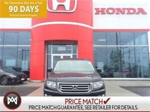 2013 Honda Ridgeline 4WD TOURING, LEATHER,SUNROOF, WHOA THIS HAS