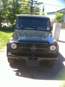 1981 Mercedes-Benz G-Class SUV, Military issue Restored