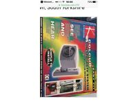 Kingavon Domestic Colour CCTV Security Camera with in built microphone