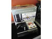 boxed ps3 with controller and game please read ad