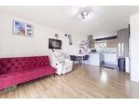 Modern 2 bed flat with balcony, communal roof terrace, bike shed and allocated parking