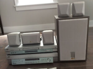 JVC Home Theatre System - reduced