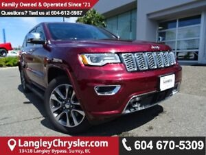 2017 Jeep Grand Cherokee Overland W/ AIR RIDE SUSPENSION & PA...