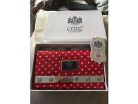 NWT LYCD red spotty purse