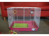 Hamster cage, cheap house clearance