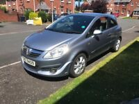 2007 vauxhall corsa 1.3 cheap insurance long mot for sale fiesta