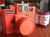 Holga Lomography camera in red