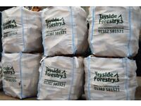 BULK BAGS OF SEASONED FIREWOOD LOGS DELIVERED FOR JUST £55