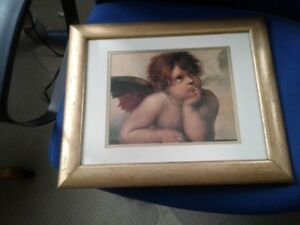 Cherub framed excellent condition