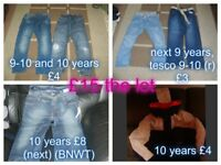 boys clothes 9 and 9-10 years collection from didcot