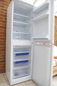 Hotpoint tall white fridge freezer