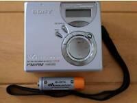 Sony Mini Disc player Recorder with Fm Radio ...