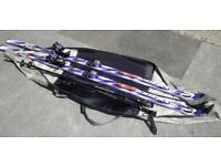 Rossignol skis with poles & carry bag