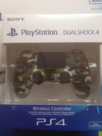 *BRAND NEW SEALED* SONY PS4 Offical DualShock 4 Controller V2 - Green Camouflage