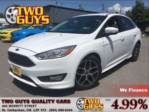 2015 Ford Focus SE BACK UP CAMERA HEATED FRONT SEATS
