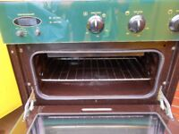 Town & Country, Green, Electric, Fan Assisted Double Oven for Under Cabinets.