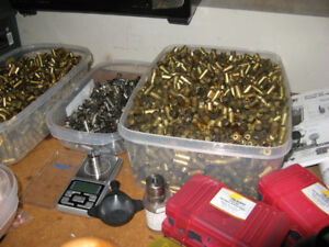 Lee Reloading Gear and brass