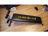 Gym Bench Fittness bench good as new