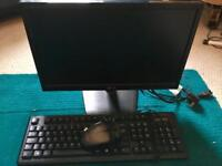 LG flatron monitor, advent keyboard and mouse