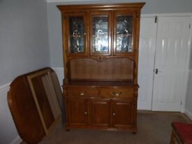 Kentucky oak display cabinet